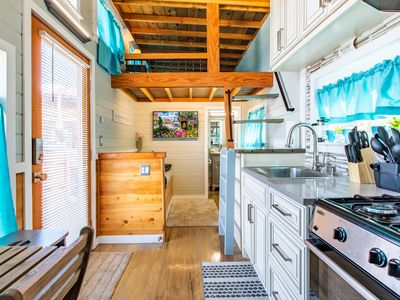 Tiny House Destiny - our most luxurious tiny house in downtown Leadville