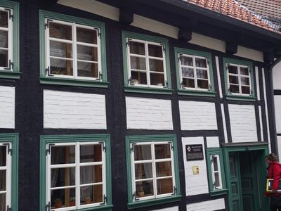 Photo for Apartment in the oldest half-timbered house - Apartment 1