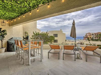 Photo for NEW-Oceanfront Cabo San Lucas Resort Condo w/Patio