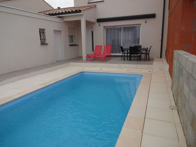 Photo for Nice villa with swimming-pool