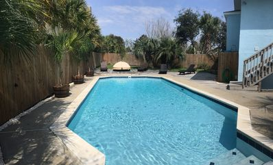 Photo for Latitude Adjustment - Enjoy a private pool -  Sleeps 19