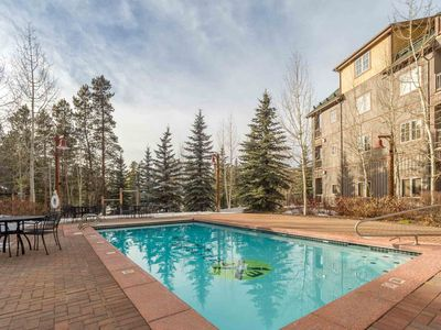 Photo for HEATED POOL IS OPEN! Steps to River Run GONDOLA! Hot Tub, Ski Locker, WiFi, Minutes To Everything