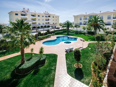 Photo for Ideal for families, Resort with a pool, close to Porto de Mos Beach