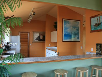 Tropical Island Large Kitchen