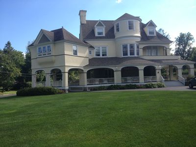 Photo for Saratoga Springs Victorian mansion