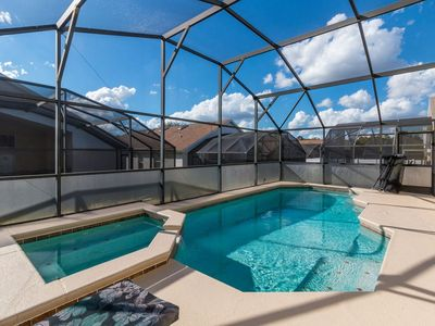 Photo for Fantastic 4 bed South Facing Pool Home Minutes to Disney!