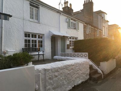 Photo for Delightful Fisherman's Cottage In Central St Ives, Pet Friendly, Free Parking.