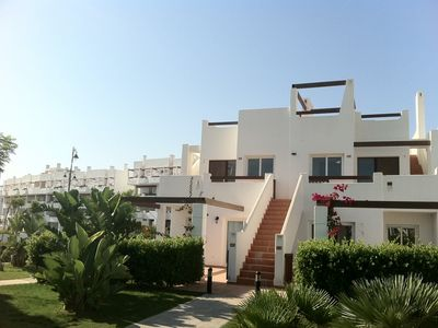Photo for Luxurious 2 bedroom apartment on the Condado De Alhama Golf Resort
