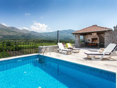 Photo for Country Villa Draccia with Heated Pool