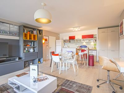 Photo for MODERN AND BRIGHT APARTMENT - HONFLEUR