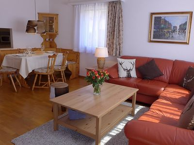 Photo for Apartment 497 m from the center of Saint Moritz with Lift, Parking, Internet, Washing machine (61319)