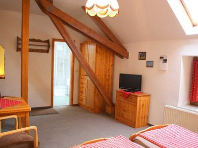 Photo for Double rooms (extra bed) - Farm and pension Kronenburghof