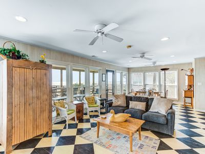 Photo for Special oceanfront home w/ stunning ocean views & private beach access!