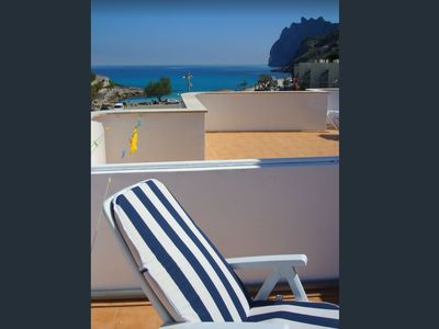 Photo for Penthouse in Cala Sant Vicenç, Pollensa. 25 m2 + Terrace 55m2