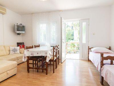 Photo for One bedroom apartment with terrace Marina, Trogir (A-1160-a)