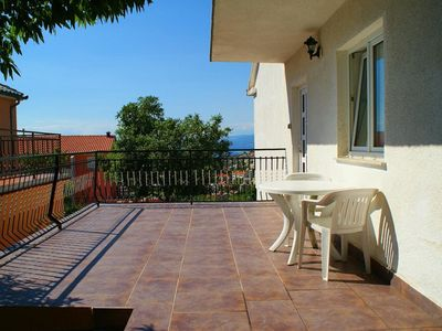 Photo for Holiday apartment With terrace, sea view and garden