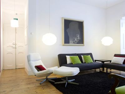 Photo for Spirit of Art - Two-Bedroom Apartment with Garden View