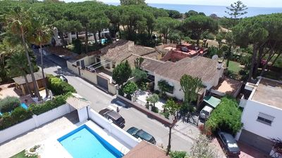 Photo for Patio Apartment, next to beach and dunes nature reserve, 15 mins Marbella