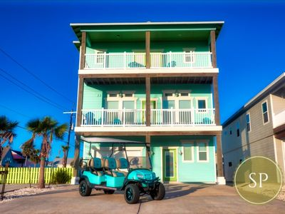 Photo for 3 Story Beach House *Private Pool*Game Room*TIKI Bar*HD SMART TVs*4 Balconies