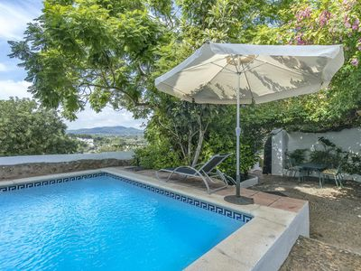 Great finca with pool on the Kirchberg of Santa Eulalia