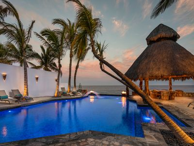 Photo for Beachfront Private Villa, Private Pool - San Jose del Cabo Los Cabos