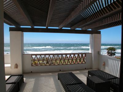 Photo for Self catering Holiday accommodation, first line beach Marbesa, Marbella