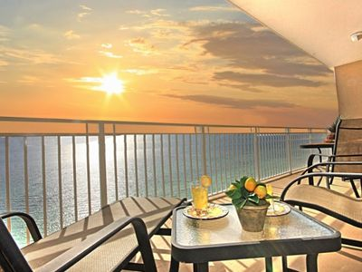 Photo for Beautiful, Gulf front, newly remodeled kitchen/ new floors, 5 *view,free bch ser