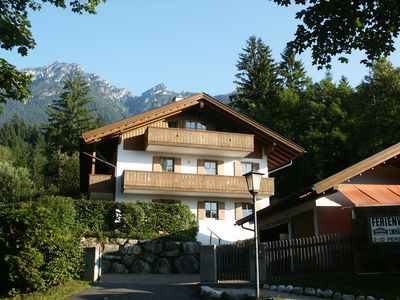 Photo for Apartments in front of Zugspitze and Karwendel