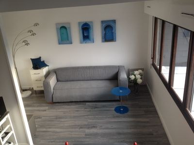 Photo for Appt 4 to 5 people, TROUVILLE SUR MER, well equipped, heated pool