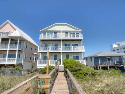 Photo for The Gregory Shea: A 5 Bedroom Oceanfront Home with Beautiful Views and Private Beach Access.