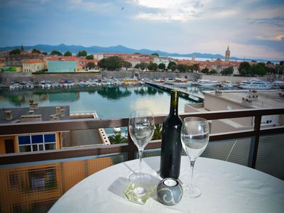 Photo for Apartment Sunset Red Zadar, sea view, perfect location, free WiFi, balcony
