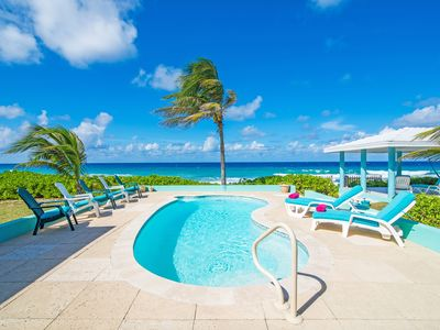 Photo for 3 Bedroom Private Villa  with Private OceanFront Pool- by CaymanVacation