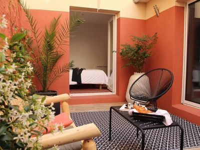 Photo for - PATIO - city center - terrace - wifi -