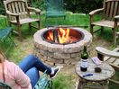 Backyard Fire Pit -great way to relax at the end of the day