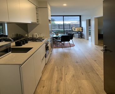 Photo for Fully Furnished New Designer apartment - Contemporary & Convenient