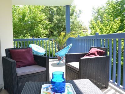 Photo for Anglet T2, large terrace near the forest, 2km from the beaches, calm and comfort