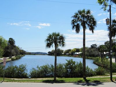 Photo for Historic Downtown St. Augustine Lake Front Condo.