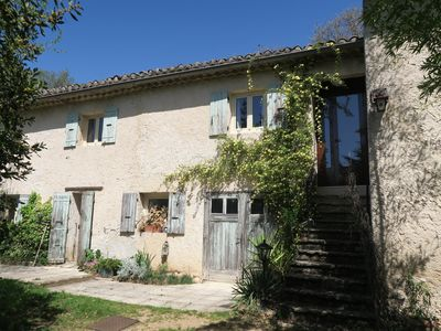 Photo for Provencal farmhouse is 20 minutes walk from the village center.