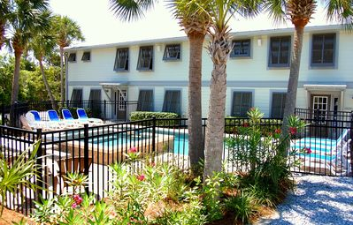 Photo for Perfect for large reunions or groups - private pool, lots of parking, 2 kitchens