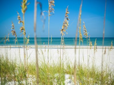 Photo for Uncrowded White Sand Beach on Gulf of Mexico