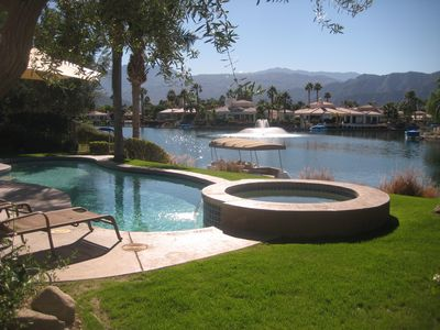 Photo for Huge Luxe Estate w/ Stunning Views & Private Boat! Pet-Friendly!