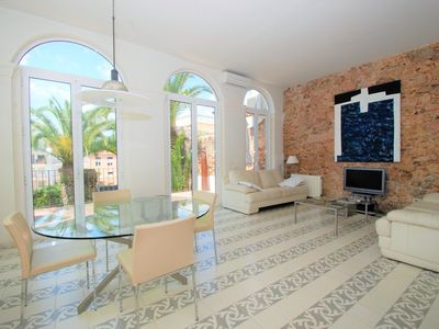Photo for CHARMING HOUSE WITH PRIVATE GARDEN IN TOWN CENTER