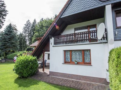Photo for Holiday home in Thuringia with amazing view, terrace and garden