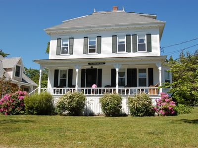 Photo for Walk to beach, town and park from gorgeous Martha's Vineyard home