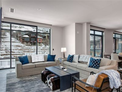 Photo for New Listing! Exclusive Ski-In/Ski-Out Penthouse w/ Private Slope-View Balcony