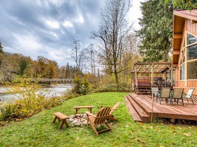 Photo for 1BR Cabin Vacation Rental in Baring, Washington