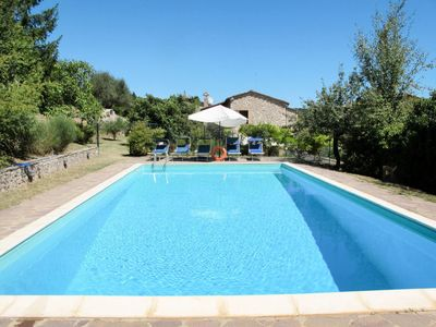 Photo for 4 bedroom Villa, sleeps 8 in Certano with Pool