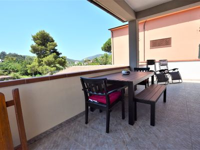 Photo for Holiday Apartment Ciliegio, Marina di Campo convenient for the beach and the center.
