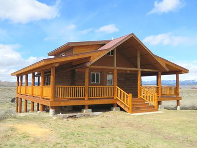 Photo for Sheep Mountain Cabin - Sleeps 8; 3BD/2.5BA on 19 acres of Montana paradise