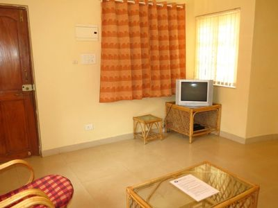 Photo for 1.3 km from the center of Calangute with Pool, Air conditioning, Parking (646663)